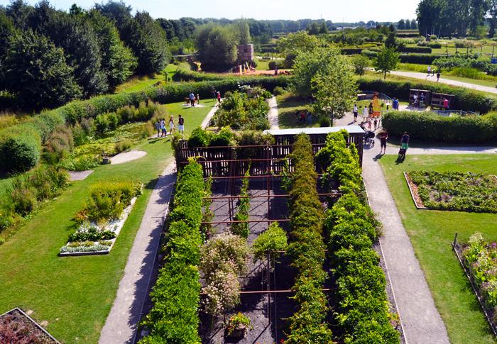 Le Parc Mosaïc est un espace culturel à visiter imperativement à Lille